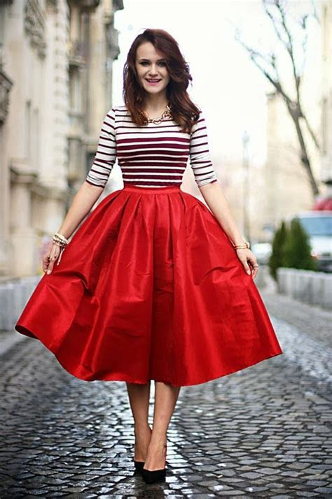 25  best ideas about Tea length skirt on Pinterest   Midi