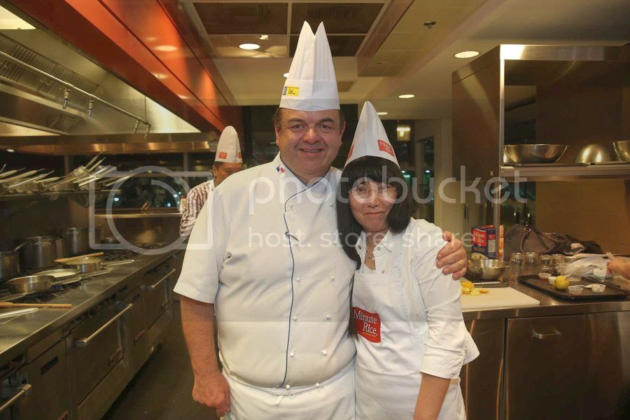Chef John Higgins and me