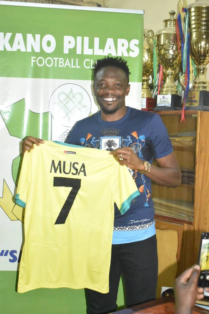 Super Eagles captain, Ahmed Musa turned down salary talks and will play for Kano Pillars for free - NPFL chairman, Shehu Dikko reveals