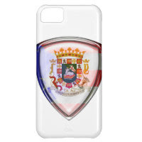Puerto Rico - Seal on Shield iPhone 5C Covers