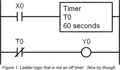 The Making Of An Off Timer Plcdev