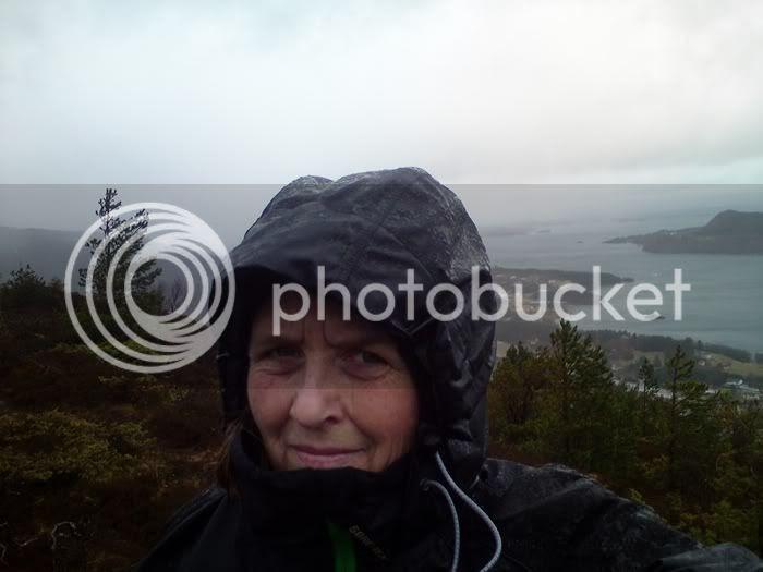 Bjerje i regn 11 mars 2012