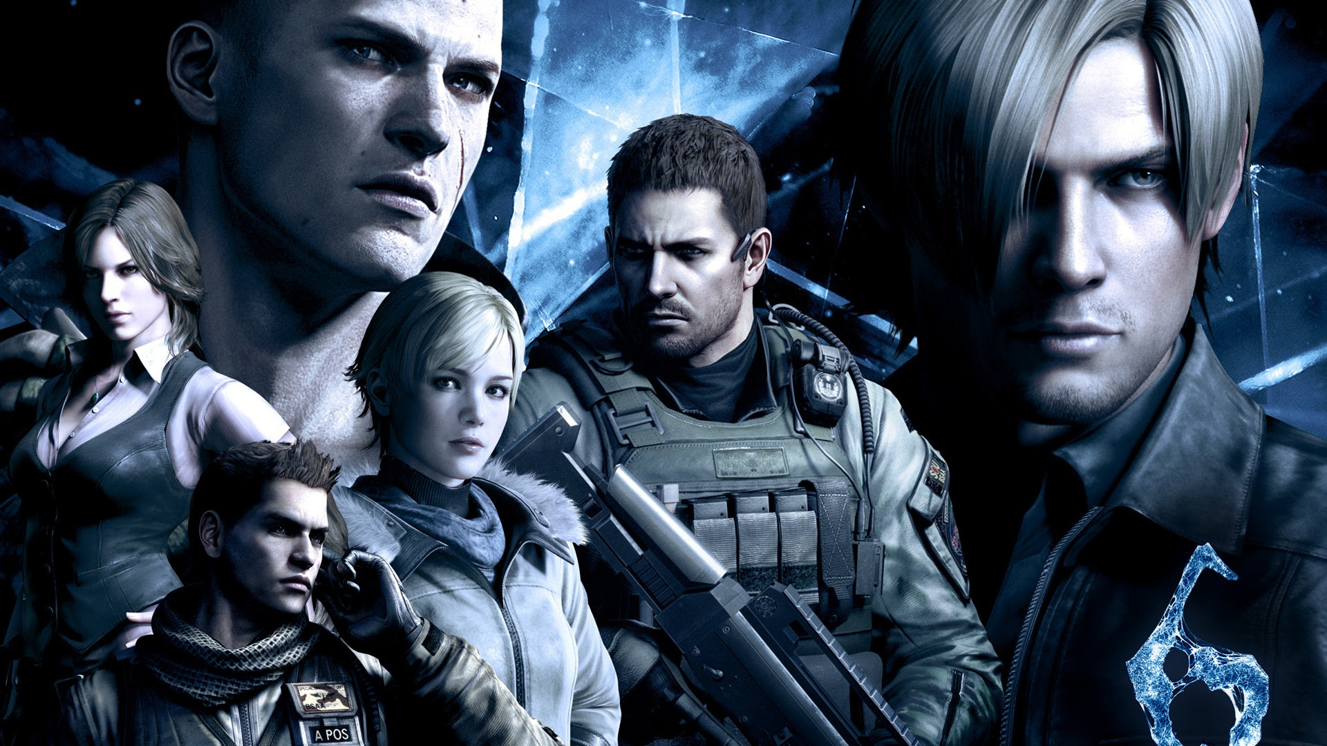Resident Evil 6 Hd Game Wallpapers 9 1920x1080 Wallpaper