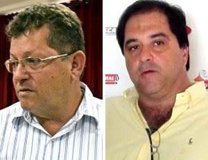 Montagem Presidente Volta Redonda e Duque de Caxias (Foto: Editoria de Arte)
