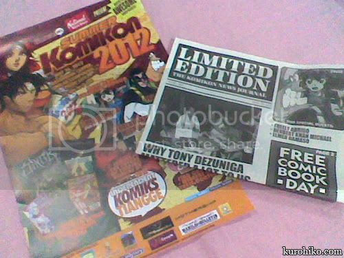 summer komikon goodies