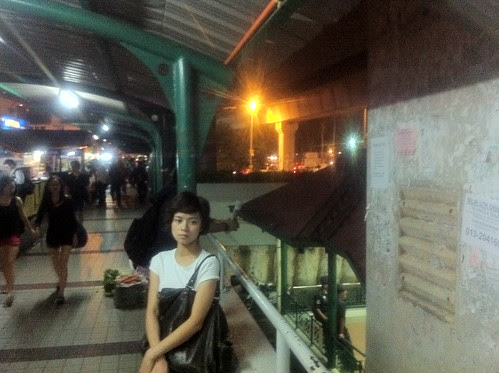 Ley Teng at Wangsa Maju LRT station