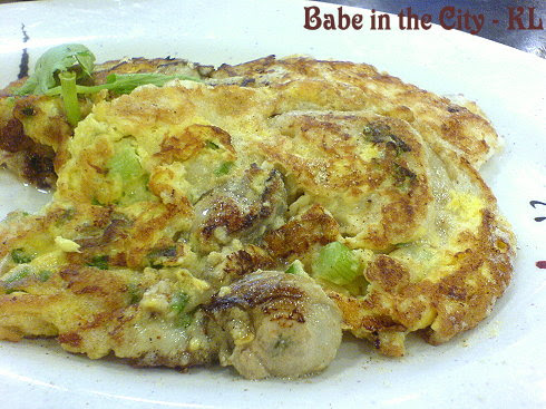 CB - oyster omelette RM8.00