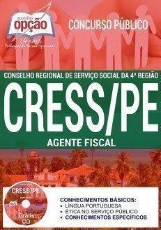 Apostila CRESS/PE da 4ª Região - AGENTE FISCAL.