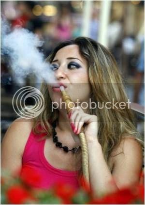 Fumar nas ruas da Turquia