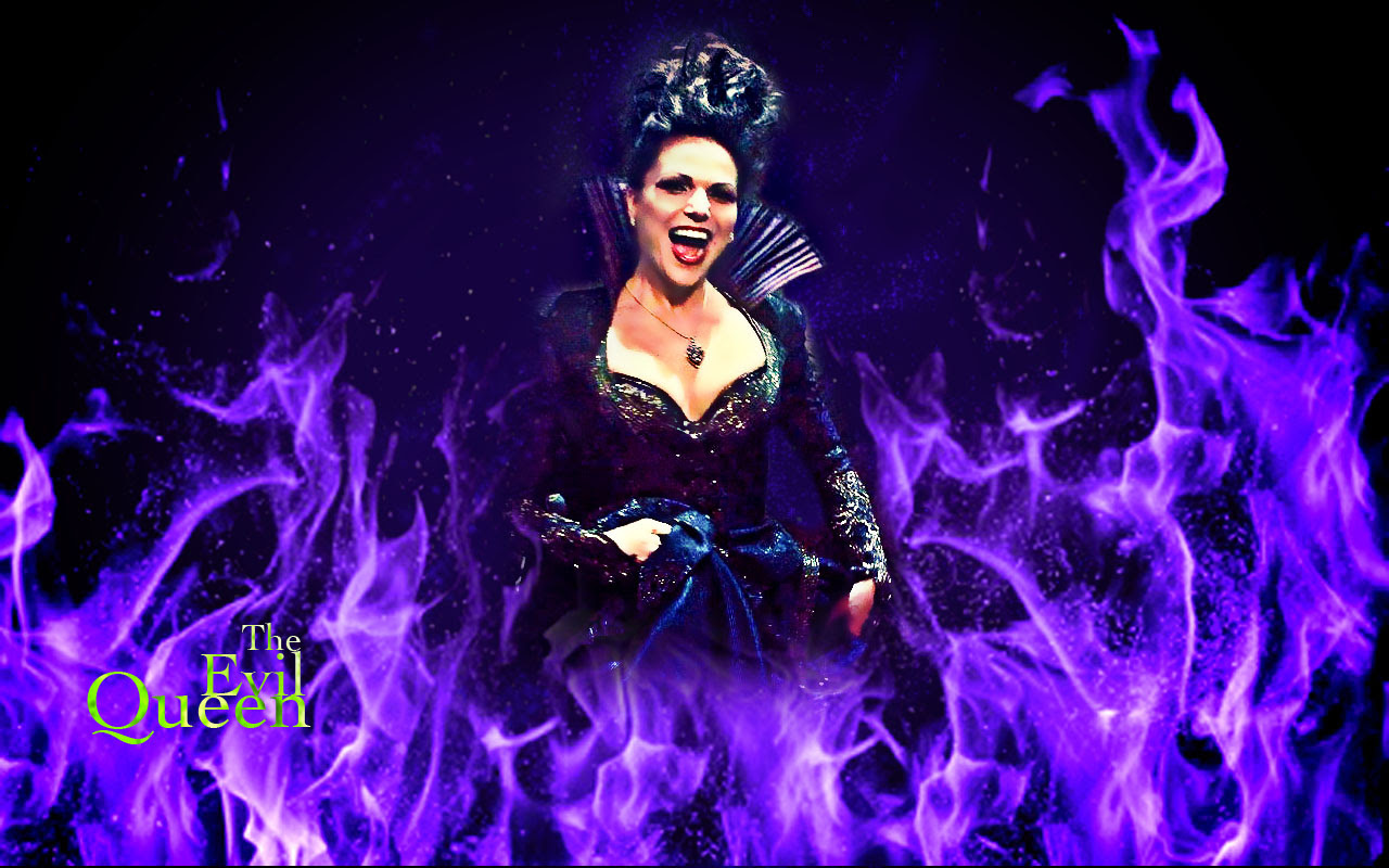 The Evil Queen Once Upon A Time Wallpaper 30782465 Fanpop