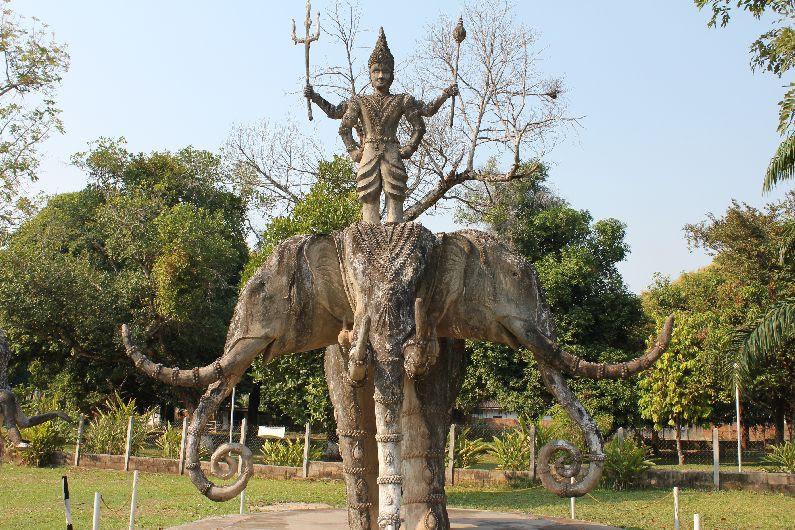 The Buddha Park And Vientiane Round The World Traveler