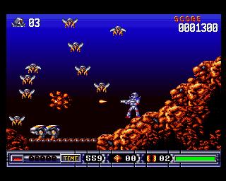 Turrican II - Amiga - 2