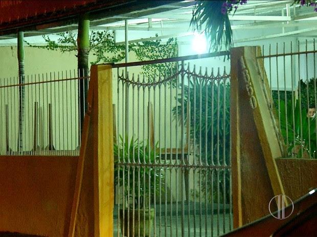 Restaurante alvo dos criminosos fica no bairro de Capim Macio, na Zona Sul de Natal (Foto: Reprodução/Inter TV Cabugi)