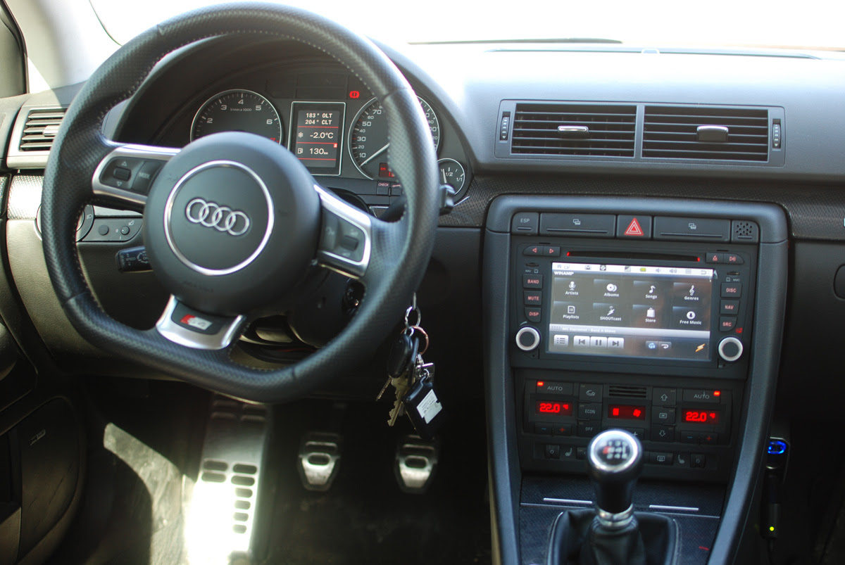 2007 Audi A4 Aftermarket Radio - Car Audi