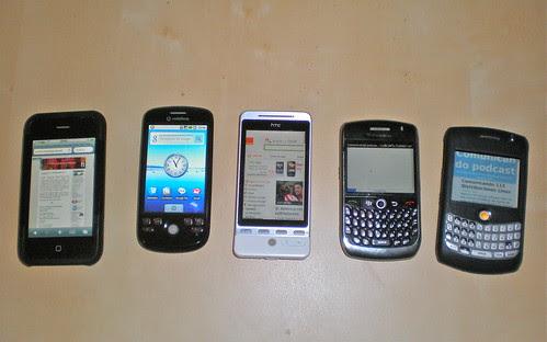 Comunicando 114 ¿Qué móvil prefieres? iPhone, BlackBerry o Android