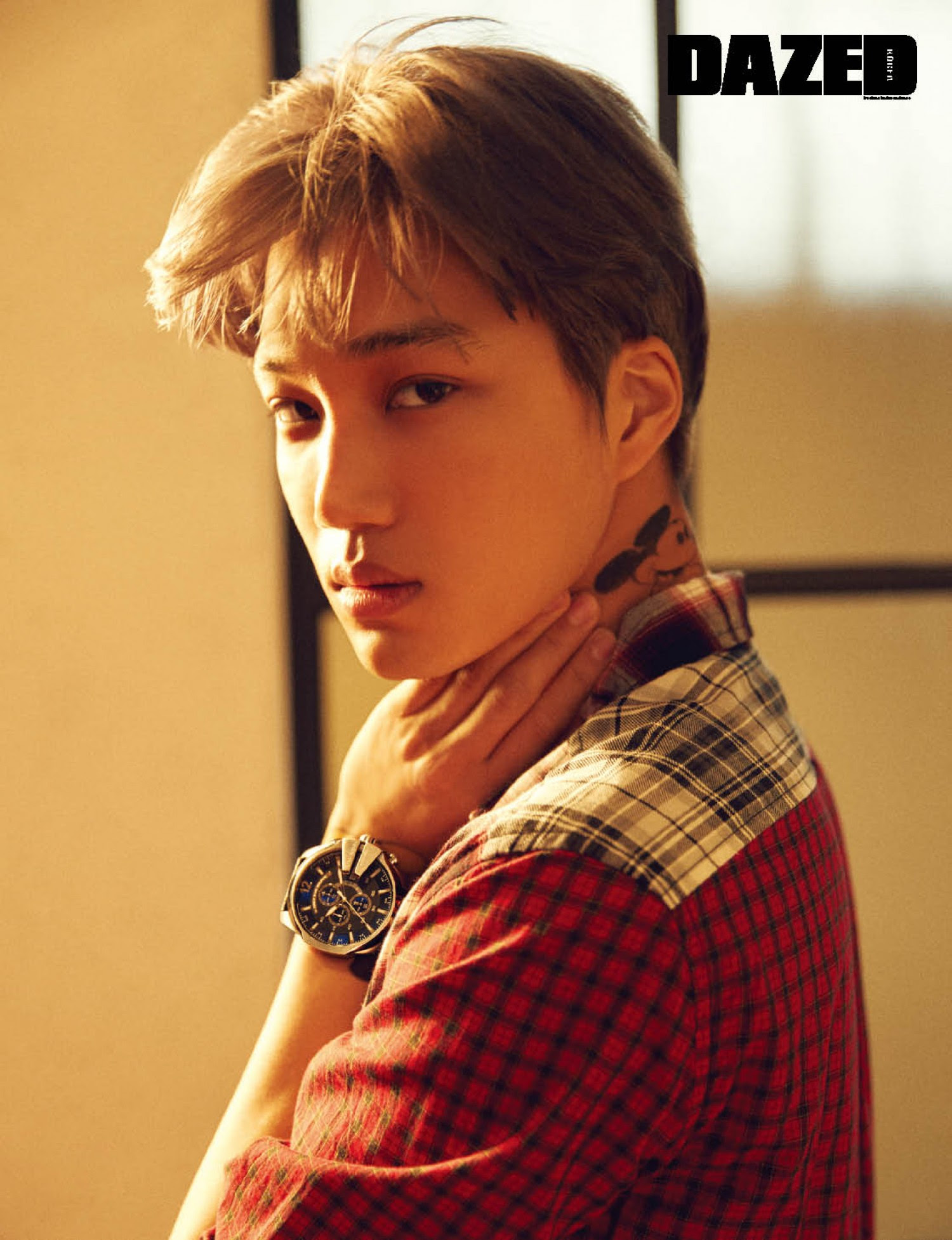 Kai Exo Dazed Confused Magazine December Korean Photoshoots