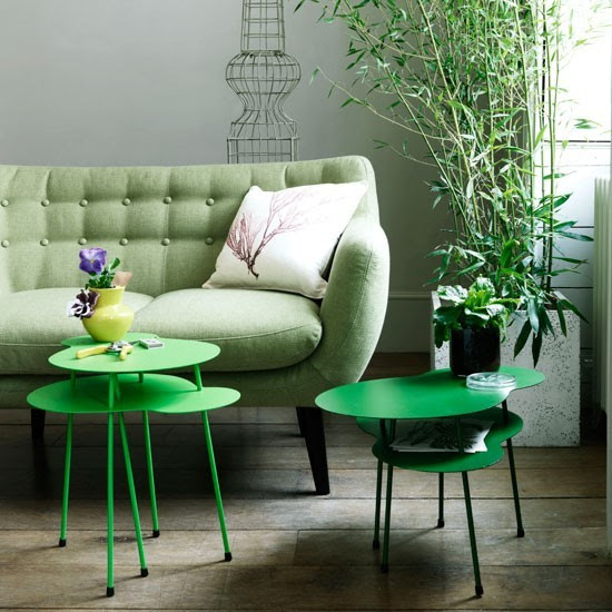 Botanical living room | Living room colour schemes - 10 of the ...