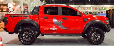 ford ranger raptor exterior horsepower update