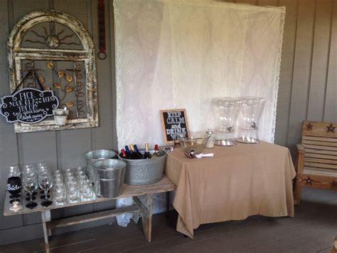 17 Best images about Rustic Bridal Shower on Pinterest