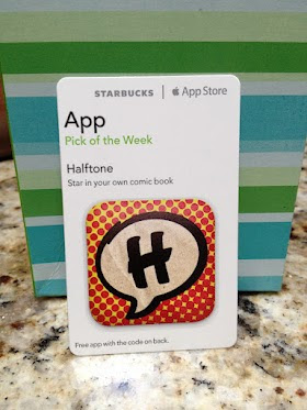 Starbucks iTunes Pick of the Week - 8/7/2012 - Halftone - [app]