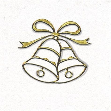 wedding bells   Wedding Envelope Seals   Gold Wedding