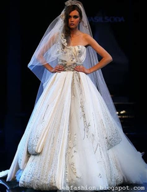 Lebanese Fashion: Wedding Gowns by Lebanese Designers