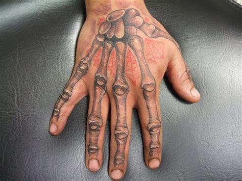skeleton hand tattoo bodygraffixtattoo deviantart