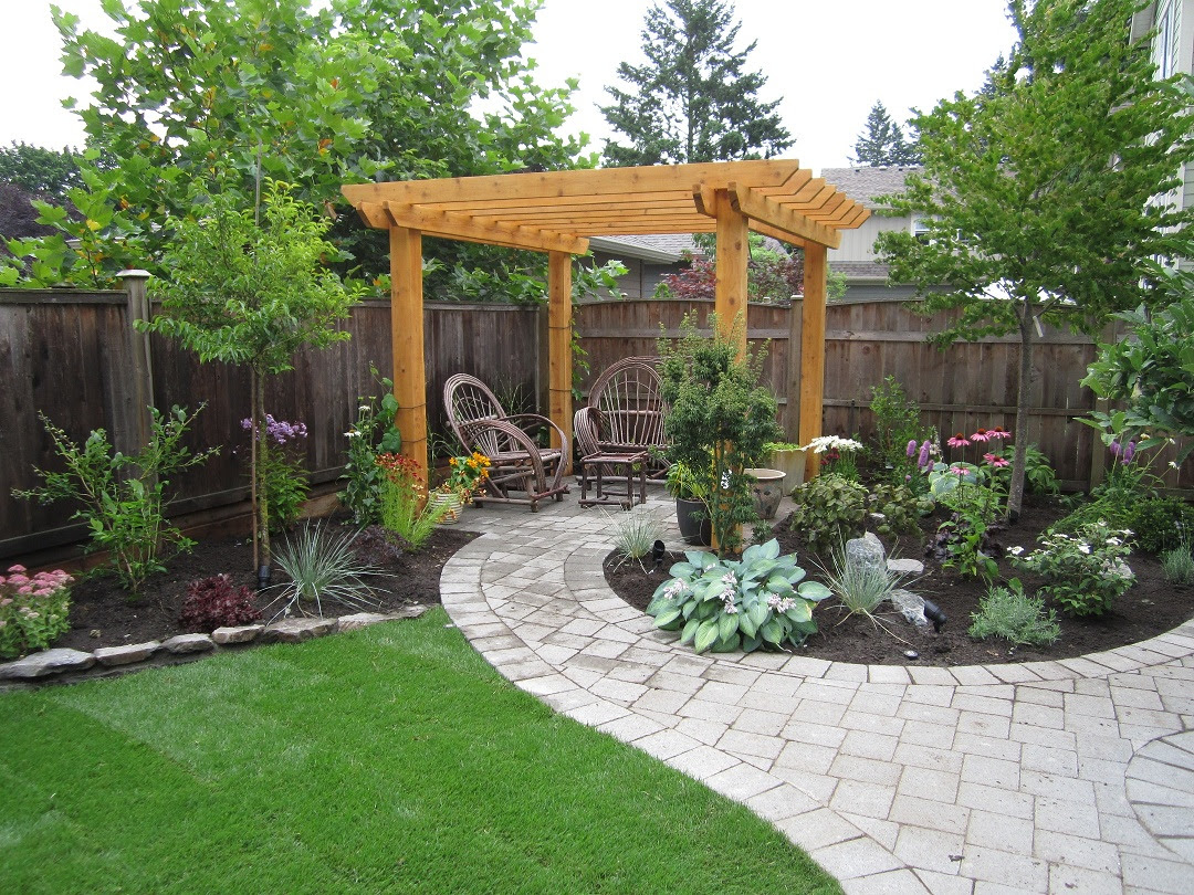 Ideas for backyard landscaping for small backyards