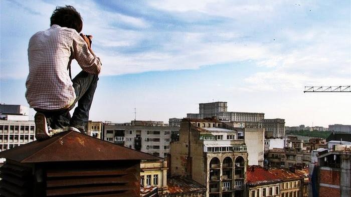 Explorările urbane sunt un sport extrem
