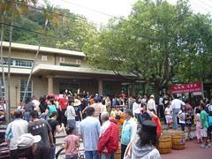 人山人海的(舊)泰安站