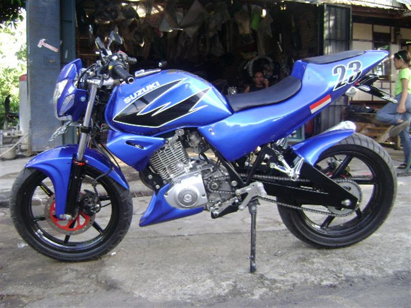 Suzuki Thunder Modification