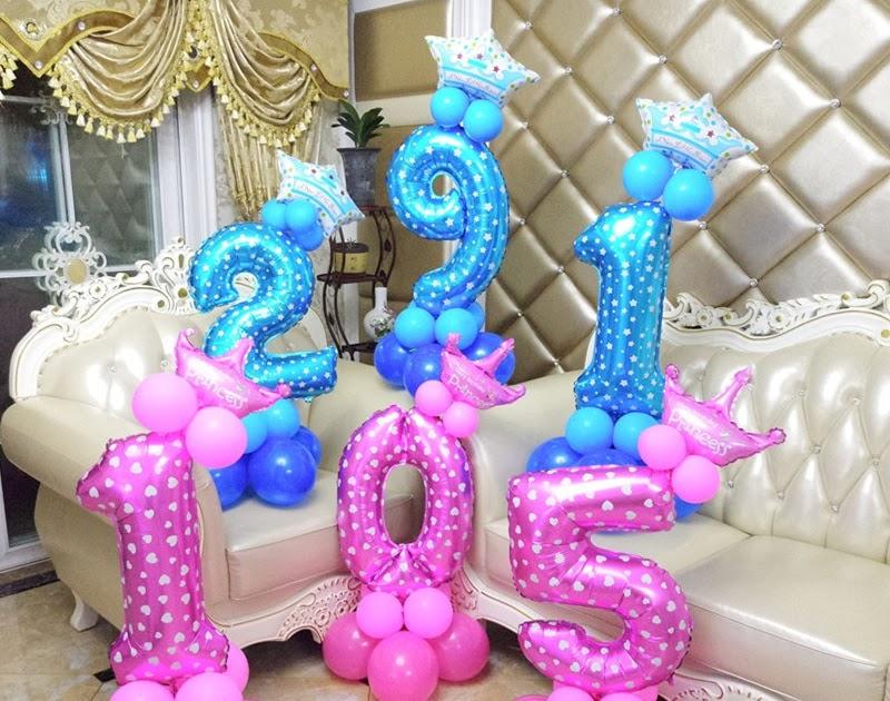 Gagasan Untuk Dekorasi Ulang Tahun Ke 17 Di Rumah - Beauty ...
