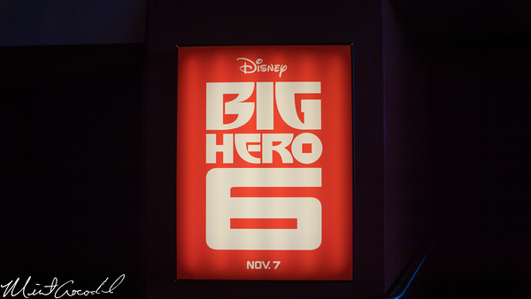 Disneyland Resort, Disneyland, Magic Eye Theater, Big Hero 6, Sneak Peek
