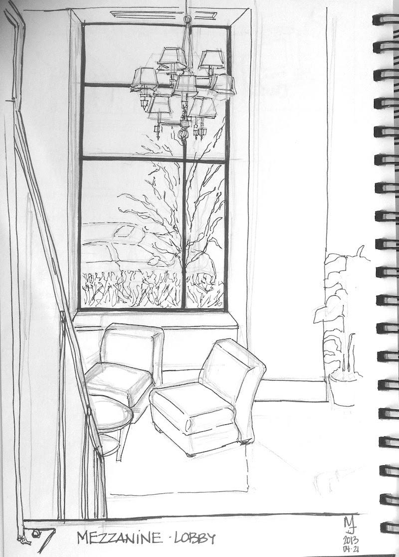 MJ ILLUSTRATES Urban Sketch Ottawa