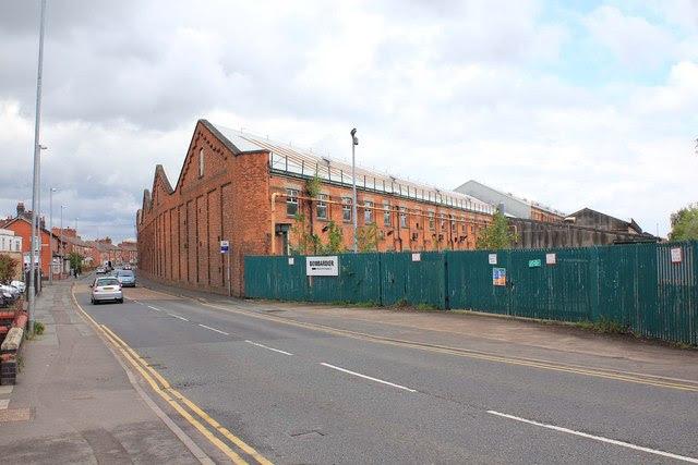 Crewe Works West Street David P Howard Cc By Sa 2 0
