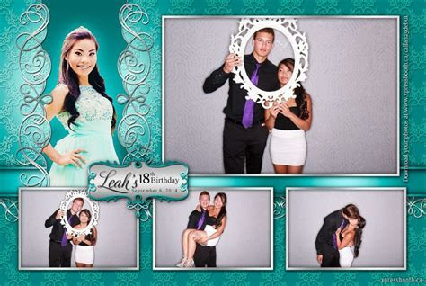 Double Celebration with 2 Photo Booth Layouts