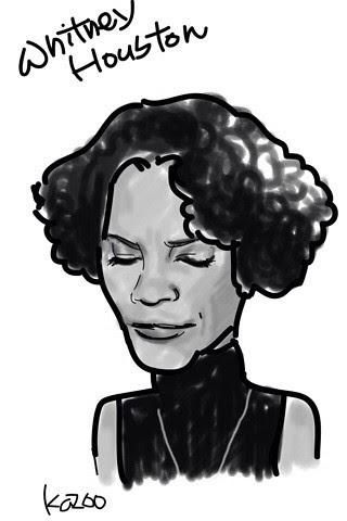Whitney Houston (Black & White)