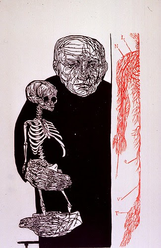 The Anatomist - Leonard Baskin, 20th cent. (NLM)