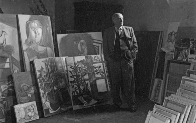 Cecil Beaton photograph of Picasso