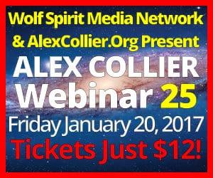 Alex Collier's TWENTY-FIFTH Webinar *LIVE* - January 20, 2017!