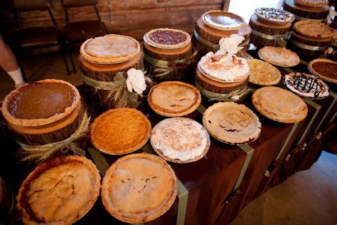 Pie Desserts For A Country Wedding   Rustic Wedding Chic