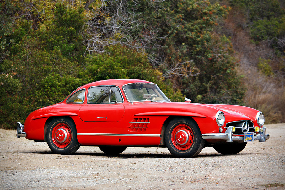 Auction Block: 1955 Mercedes-Benz 300SL Gullwing ...