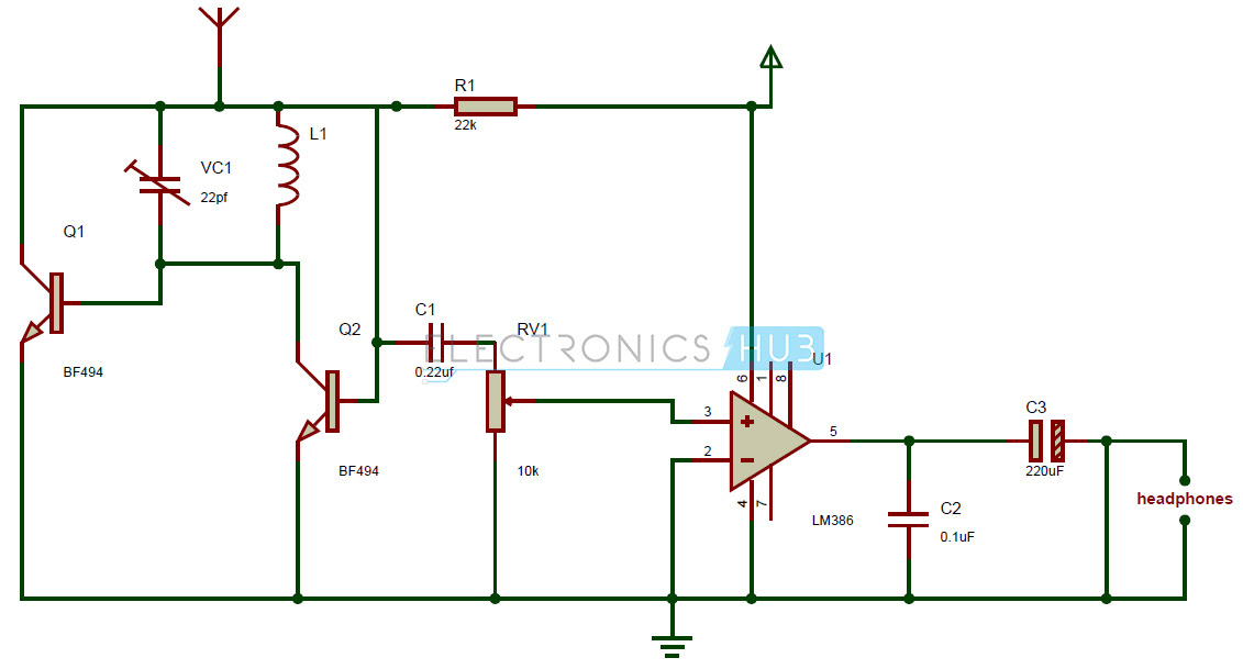 Tda7010t Fm Radio Receiver Circuit Diagram