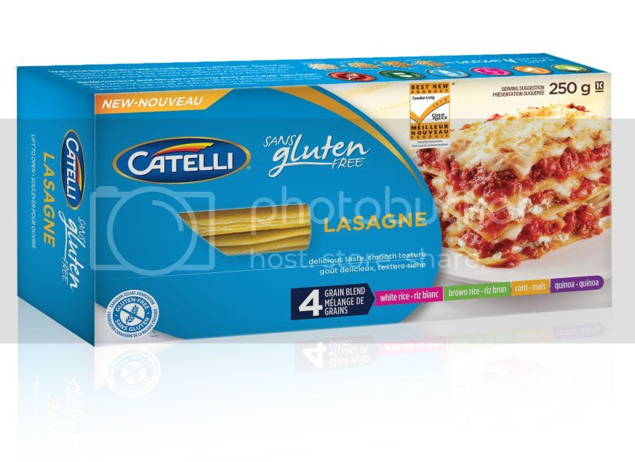 photo Catelli Gluten Free Lasagne box