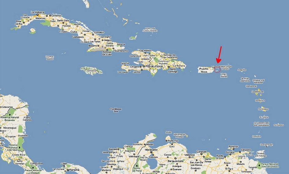 dansk vestindiske øer kort Kort Over De Vestindiske øEr | Kort 2019