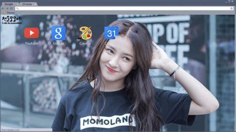 Nancy (momoland) Chrome Theme   ThemeBeta