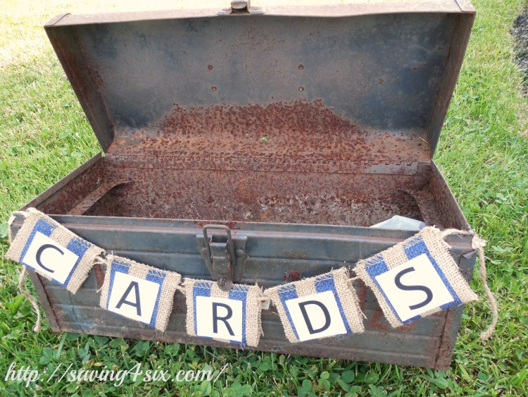 Rustic Gift And Card Box Ideas For Graduation Or Wedding