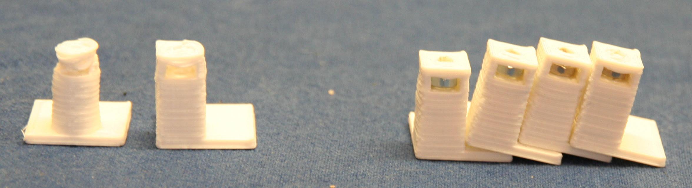 Evolution of 3mm PCB pillars