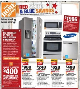 Home Depot Presidents Day Appliance Sale Insured By Ross