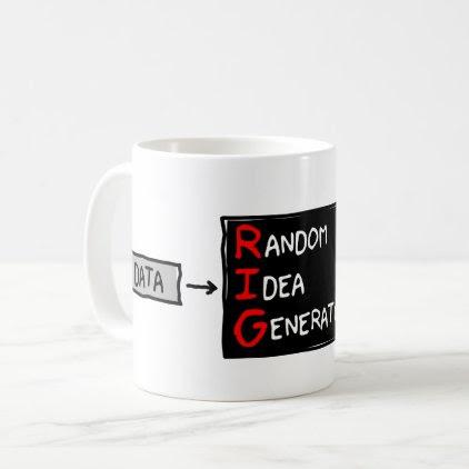 Random Idea Generator (RIG the Data) Mug
